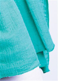 Queen Bee Nursing Scarf Cover in Mint by Maternal America