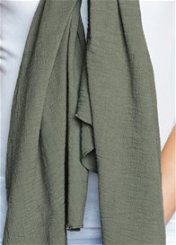Queen Bee Nursing Scarf Cover in Olive by Maternal America