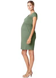 Queen Bee Adventure Green Maternity Nursing Dress in Green by Esprit
