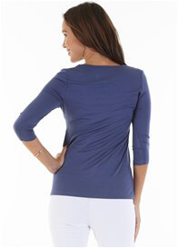 Trimester™ - Alana Nursing Top in Blue - ON SALE