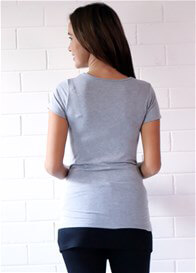 Trimester™ - Britney Nursing T-Shirt in Grey