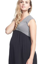 Queen Bee Bonita High-Low Maternity Dress by Soon Maternity