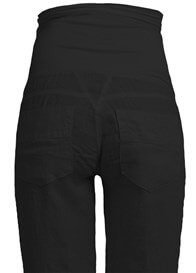 Queen Bee Black Maternity Linen Pants by Queen mum