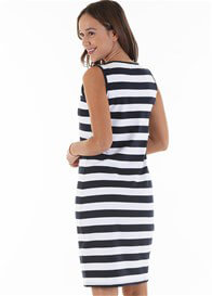 Trimester™ - Axel Stripe Nursing Tank Dress