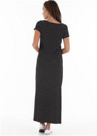 Queen Bee Logan Side Split Nursing Maxi by Trimester Clothing