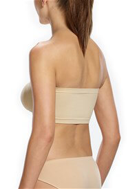 Queen Bee Padded Strapless Maternity Bandeau Bra in Nude by Ambra