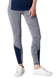 Queen Bee Active Maternity Leggings in Night Blue by Esprit