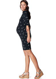 Queen Bee Justa Dragonfly Print Maternity Dress by Noppies