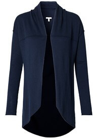 Esprit - Shawl Collar Knit Cardigan in Navy - ON SALE