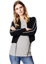 Supermom - Pleun Twin Stripe Cropped Jacket