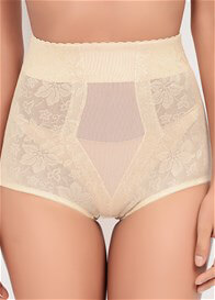 Queen Bee Leigh High Waist Lace Jacquard Control Brief by QT Intimates