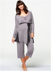 Queen Bee Apple Crumble Maternity Robe by Cake Lingerie