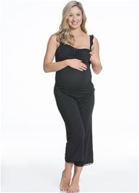 Queen Bee Choc Vanilla Maternity Sleep/Loung Pant by Cake Lingerie