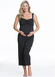 Queen Bee Choc Vanilla Maternity/Nursing Cami by Cake Lingerie
