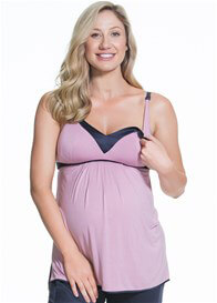 Queen Bee Gateau Maternity Nursing Camisole in Rose by Cake Lingerie