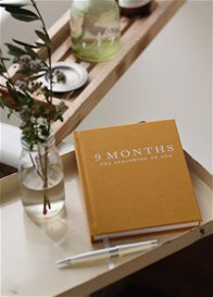 Queen Bee The Beginning of You 9 Months Pregnancy Journal by Write to Me