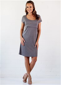 Queen Bee Josslyn Postpartum Nursing Dress by Trimester Clothing