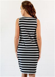 Queen Bee Nellie Postpartum Nursing Tank Dress by Trimester Clothing