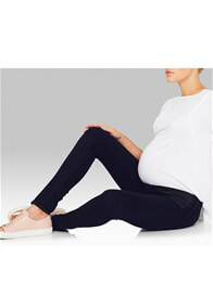 Queen Bee Reina Rinse Gold Super Skinny Maternity Jeans by Mavi