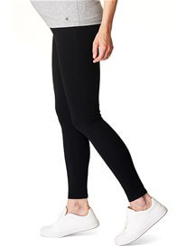 Queen Bee Over Bump Maternity Leggings in Black by Esprit