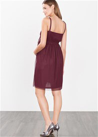 Esprit - Evening Cocktail Dress in Burgundy - ON SALE