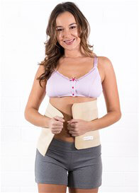 Queen Bee Postpartum Elastic Abdominal Binder Wrap in Nude