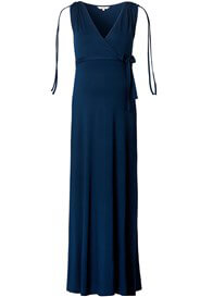 Queen Bee May Maternity Nursing Maxi Dress in Midnight Blue by Noppies