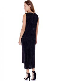 Imanimo - Felicia Evening Shimmer Dress in Black