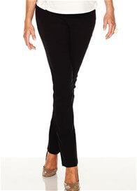 Queen Bee Straight Leg Black Maternity Pants by Soon Maternity