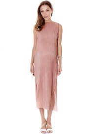Imanimo - Felicia Evening Shimmer Dress in Blush - ON SALE