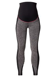 Queen Bee Maternity Active Sports Leggings in Black Marle by Esprit