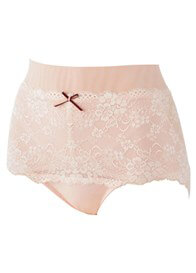Queen Bee Sofia Pink Lace Postpartum Control Briefs by Queen Bee