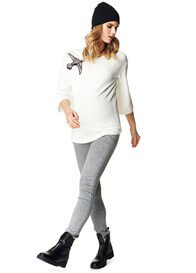 Supermom - Patchwork Bird Sweater