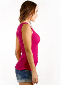 Trimester® - Rosie Nursing Tank Top in Fuchsia