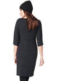 Queen Bee Gigi Maternity Knit Tunic in Anthracite by Noppies