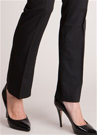 Queen Bee Sofia Black Straight Leg Maternity Trousers by Seraphine