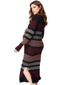 Noppies - Jara Striped Knit Maxi Dress