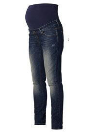 Queen Bee Robin Maternity Boyfriend Jeans in Blue Wash by Noppies