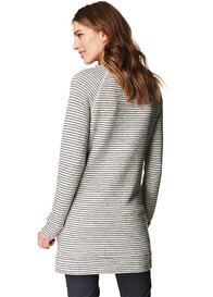 Esprit - Long Striped Sweatshirt