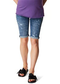 Supermom - Distressed Denim Shorts