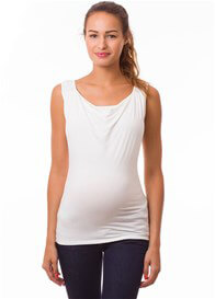 Pomkin - Milkizzy Marie Nursing Top in Ecru