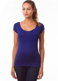 Pomkin - Milkizzy Lise Nursing Top in Blue Print - ON SALE