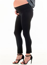 Floressa - Andie Cropped Ponte Pants in Black