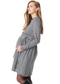 Esprit - Gingham Nursing Dress