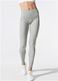 Blanqi - SportSupport Hipster Cuffed Legging in Dove Grey