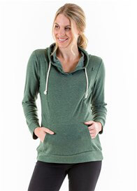 Lait & Co - Danze Nursing Hoodie in Khaki