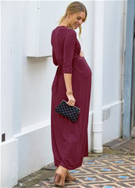 Lait & Co - Royans Maxi Dress in Wine