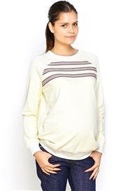 Imanimo - Scarlett Pullover Jumper in Cream