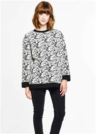 Paula Janz - White Floral Pullover - ON SALE