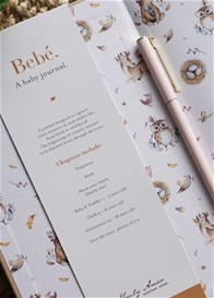 Truly Amor - Bebe Baby Book in Oatmeal
